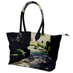 Hot Day In Dallas 1 Canvas Shoulder Bag by bestdesignintheworld