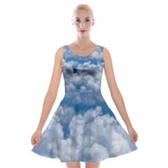 Mary Helen s Photo Of Sky From The Sky Velvet Skater Dress
