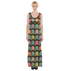 Zappwaits Thigh Split Maxi Dress by zappwaits