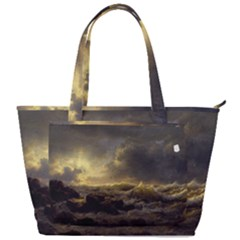 Andreas Achenbach Sea Ocean Water Back Pocket Shoulder Bag  by Sudhe