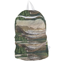 Glacier National Park Scenic View Foldable Lightweight Backpack
