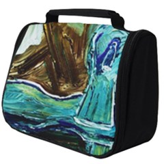 Wood Horsey 1 1 Full Print Travel Pouch (big)