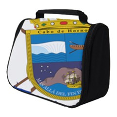 Coat Of Arms Of Cabo De Hornos Full Print Travel Pouch (small) by abbeyz71
