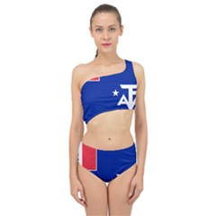Flag Of The French Southern And Antarctic Lands, 1958 Spliced Up Two Piece Swimsuit by abbeyz71