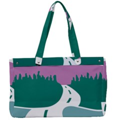 National Forest Scenic Byway Highway Marker Canvas Work Bag by abbeyz71