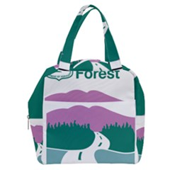 National Forest Scenic Byway Highway Marker Boxy Hand Bag