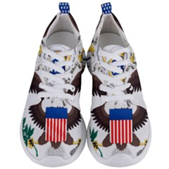 Greater Coat Of Arms Of The United States Men s Lightweight Sports Shoes