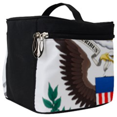 Greater Coat Of Arms Of The United States Make Up Travel Bag (big) by abbeyz71
