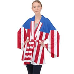 Lesser Coat Of Arms Of The United States Long Sleeve Velvet Kimono  by abbeyz71