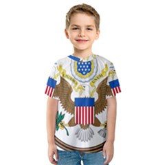 Great Seal Of The United States   Obverse Kids  Sport Mesh Tee by abbeyz71