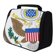 Great Seal Of The United States - Obverse Full Print Travel Pouch (small) by abbeyz71