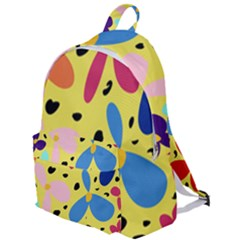 Sahara Street Spring Daisies The Plain Backpack by SaharaStreet