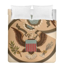 Great Seal Of The United States - Obverse Duvet Cover Double Side (full/ Double Size) by abbeyz71