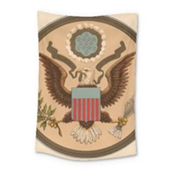 Great Seal Of The United States - Obverse Small Tapestry by abbeyz71