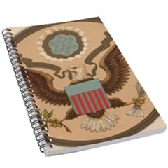 Great Seal Of The United States - Obverse 5 5  X 8 5  Notebook by abbeyz71