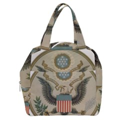 Great Seal Of The United States - Obverse Boxy Hand Bag by abbeyz71