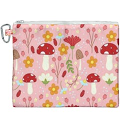 Floral Surface Pattern Design Canvas Cosmetic Bag (xxxl)