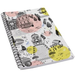 The Park  Pattern Design 5 5  X 8 5  Notebook