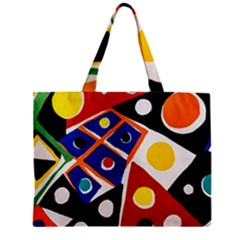 Pattern And Decoration Revisited At The East Side Galleries Zipper Mini Tote Bag