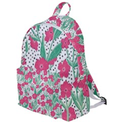 Flora Floral Flower Flowers Pattern The Plain Backpack