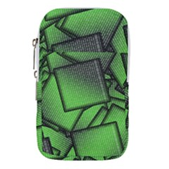 Binary Digitization Null Green Waist Pouch (large)