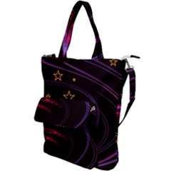 Background Abstract Star Shoulder Tote Bag