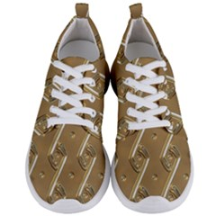 Gold Background 3d Men s Lightweight Sports Shoes
