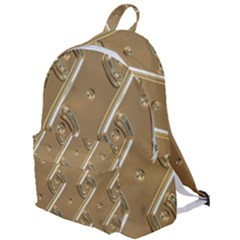 Gold Background 3d The Plain Backpack