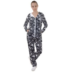 Fabric Pattern Sunflower Women s Tracksuit