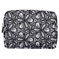 Fabric Pattern Sunflower Make Up Pouch (medium) by AnjaniArt