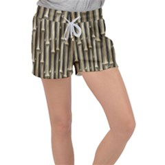 Bamboo Grass Women s Velour Lounge Shorts