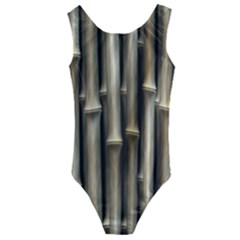 Bamboo Grass Kids  Cut Out Back One Piece Swimsuit