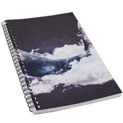 Space Whale 5 5  X 8 5  Notebook by goljakoff