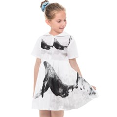 Blue Whale Kids  Sailor Dress by goljakoff