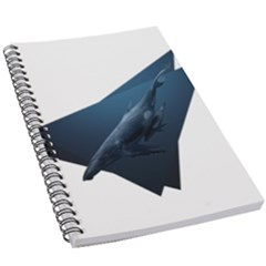 Whales 5 5  X 8 5  Notebook by goljakoff