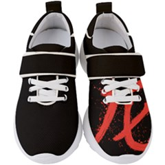 Dragon Hieroglyph Kids  Velcro Strap Shoes by goljakoff