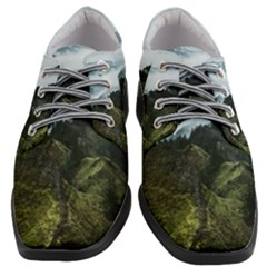 Green Alps Women Heeled Oxford Shoes