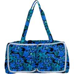 Fall Leaves Blue Multi Function Bag by bloomingvinedesign