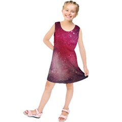 Red Space Kids  Tunic Dress