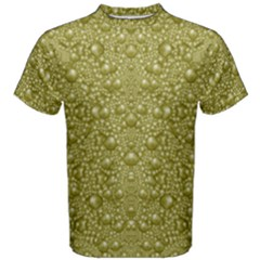 Baroque Pearls In Ornate Decorative Bohemian Style Men s Cotton Tee