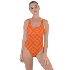 Orange Maze Bring Sexy Back Swimsuit