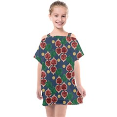 Figs And Monstera  Kids  One Piece Chiffon Dress by VeataAtticus
