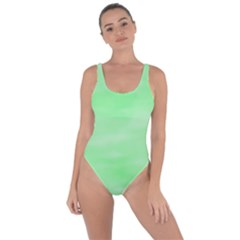 Mint Watercolor Bring Sexy Back Swimsuit