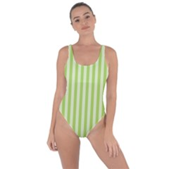Lime Stripes Bring Sexy Back Swimsuit by retrotoomoderndesigns