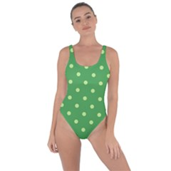 Green Polka Dots Bring Sexy Back Swimsuit