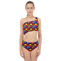 Colorful 59 Spliced Up Two Piece Swimsuit by ArtworkByPatrick