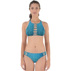 Turquoise Blue Ocean Perfectly Cut Out Bikini Set