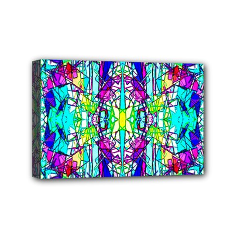 Colorful 60 Mini Canvas 6  x 4  (Stretched)