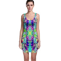 Colorful 60 Bodycon Dress