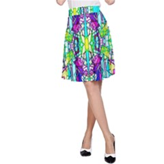 Colorful 60 A-Line Skirt